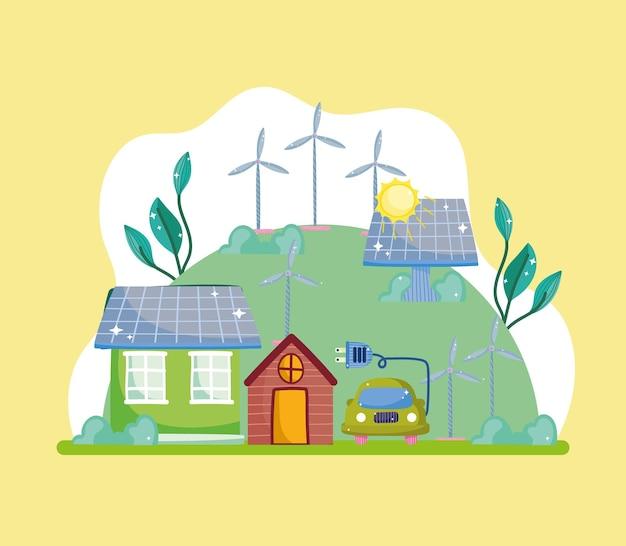 Energia verde in casa e in auto