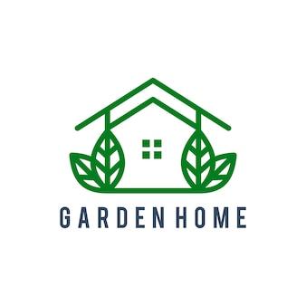 Logo design della casa verde