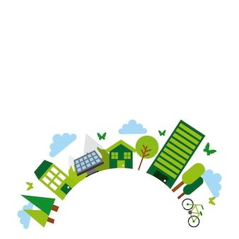Idea verde ed ecologia