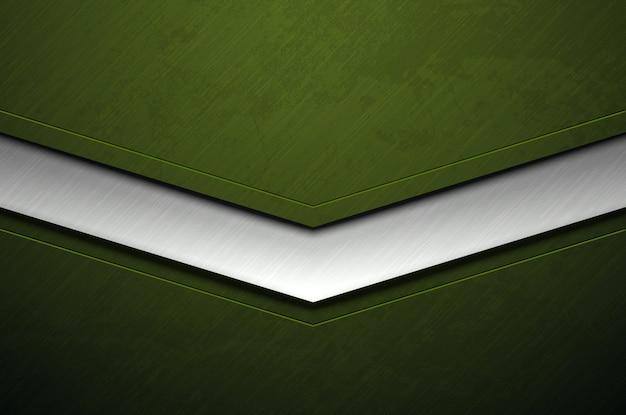 Priorità bassa verde del metallo con struttura del grunge
