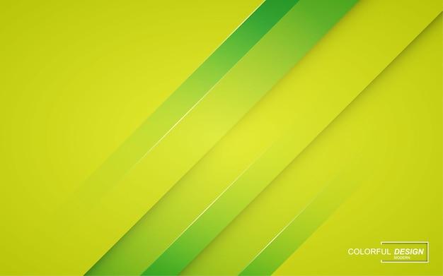 Fondo astratto moderno verde