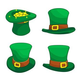 Cappello da giorno verde di san patrizio