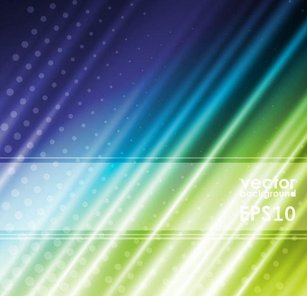 Tessuto di seta verde per sfondi, illustrazione Vettore Premium