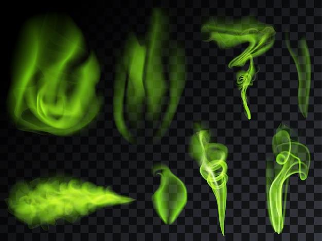 Set fumo verde