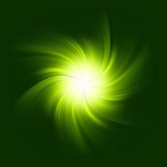 Sfondo verde a spirale. file incluso