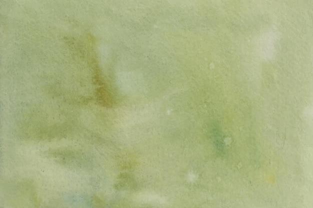 Trama di sfondo verde acquerello