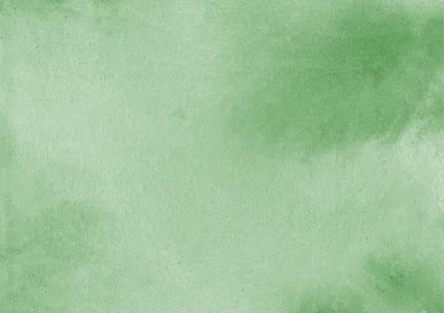Sfondo verde acquerello