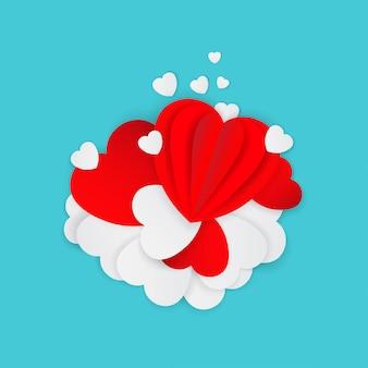 Biglietto di auguri per felice san valentino