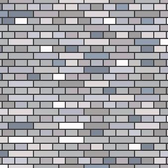 Fondo grigio del muro di mattoni. illustrazione vettoriale