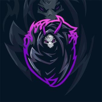 Grim reaper e-sports team logo
