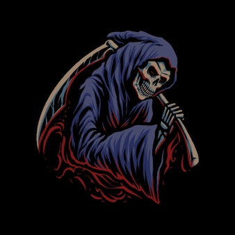 L'illustrazione di grim reaper