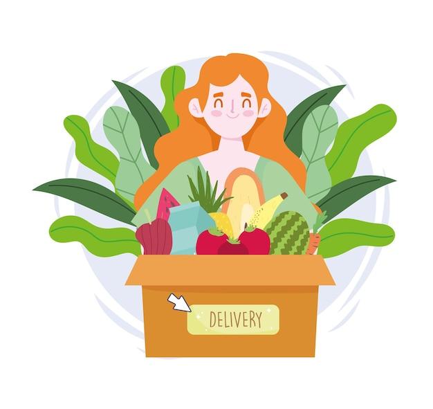 Consegna online di generi alimentari