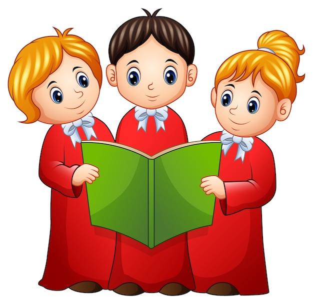Gruppo di cori di bambini
