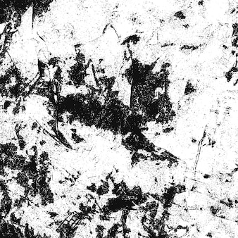 Fondo di lerciume in bianco e nero. trama monocromatica. reticolo di vettore di pietra, patatine, graffi, neve, montagne. superficie astratta vintage