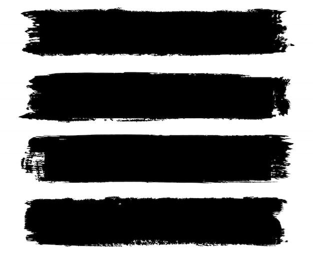 Banner di pennellata grunge