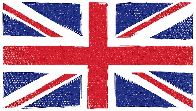 Bandiera del jack dell'unione grunge