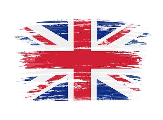 Bandiera del regno unito grunge