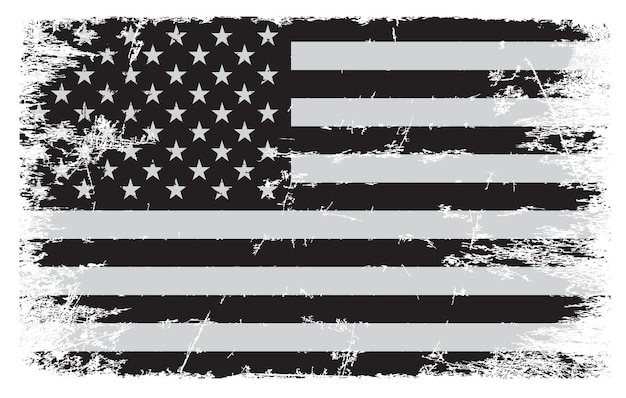 Bandiera americana vintage grunge