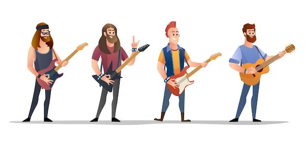 Set di caratteri del chitarrista