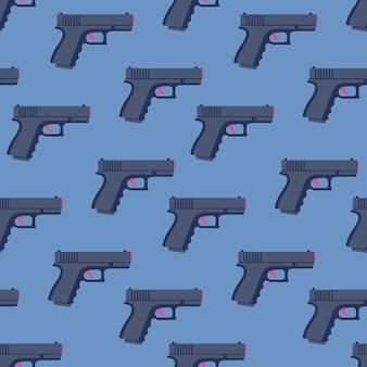Modello senza cuciture di pistole.