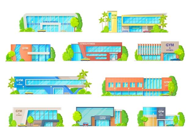 Palestra o edifici del centro fitness