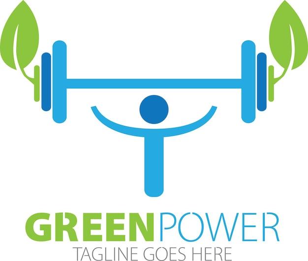 Logo di potenza della palestra