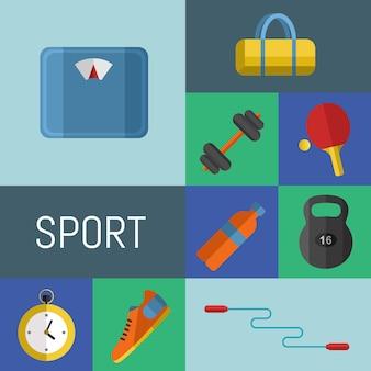 Attrezzature sportive da palestra