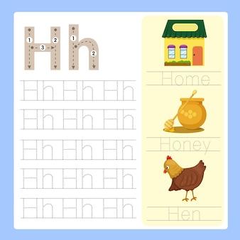 H esercizio vocabolario dei cartoni animati