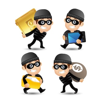 Hacker and thief