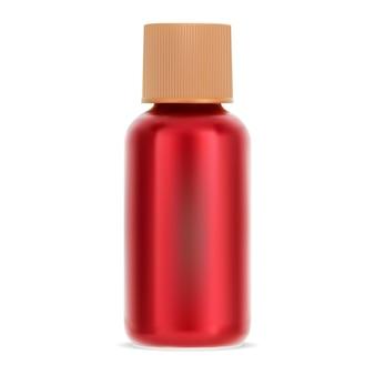 Flacone cosmetico per capelli contenitore shampoo trattamento con tappo a vite