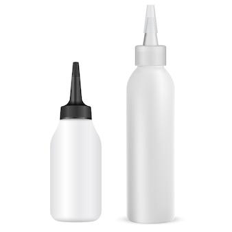 Illustrazione del tubo della tintura per capelli