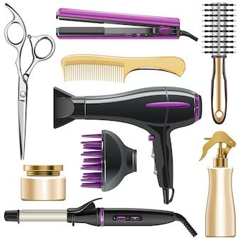 Icone per lo styling dei capelli
