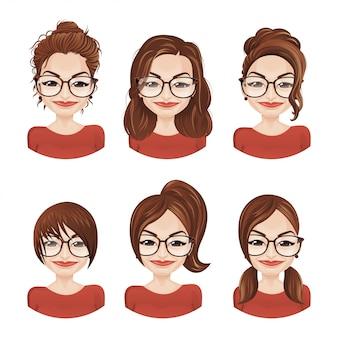 Acconciature / parrucche per donna / ragazza