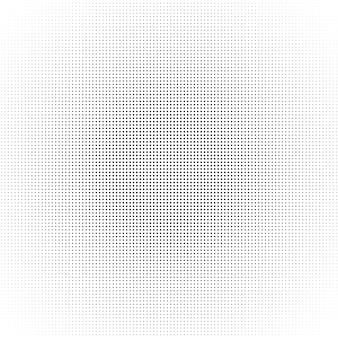 Reticolo di punti del cerchio di semitono. illustrazione astratta nera