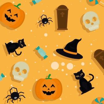 Modello di celebrazione di halloween