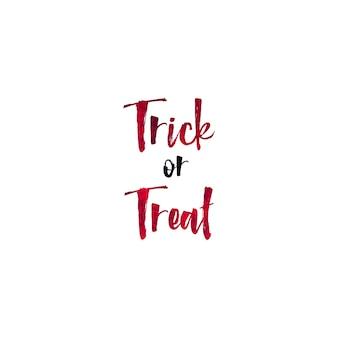 Iscrizione della mano di giorno di halloween