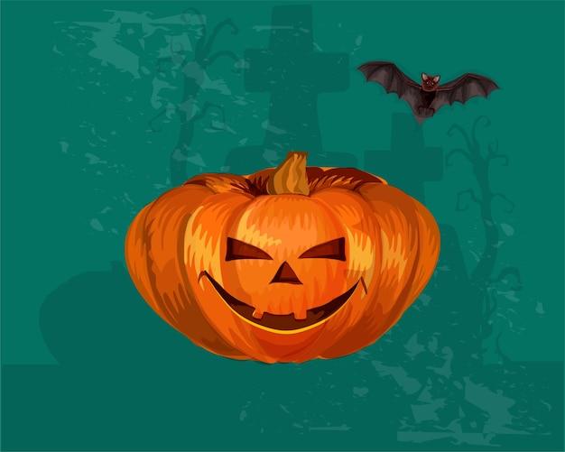 Tema della raccolta dell'elemento di halloween