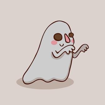 Fantasma di halloween amichevole