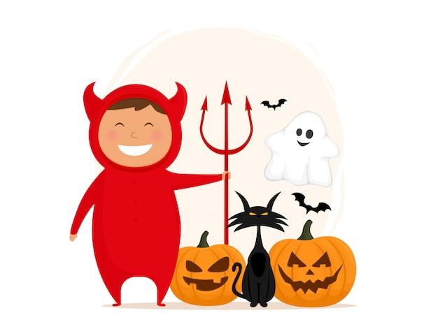 Personaggi divertenti di halloween.