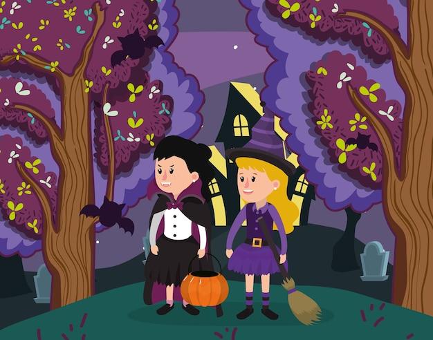 Halloween cartoni per bambini