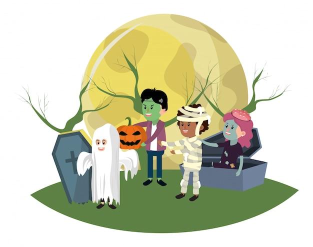 Cartoni animati per bambini halloween