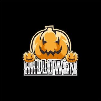 Illustrazione del logo di halloween