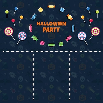 Flayer di halloween party