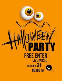Manifesto della festa di halloween