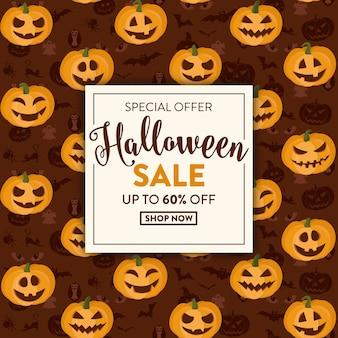 Progettazione di vendita di halloween