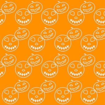 Fondo senza cuciture di halloween. elementi astratti di schizzo di halloween isolati sulla copertina viola. motivo fatto a mano per biglietti di design, inviti, poster, banner, menu, quaderni, album, ecc.