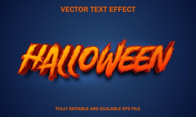 Effetto testo di halloween