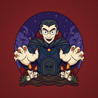 Vampiro di halloween