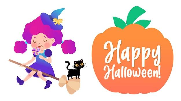 Costume di halloween wtch