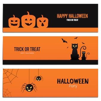 Banner di hallowen